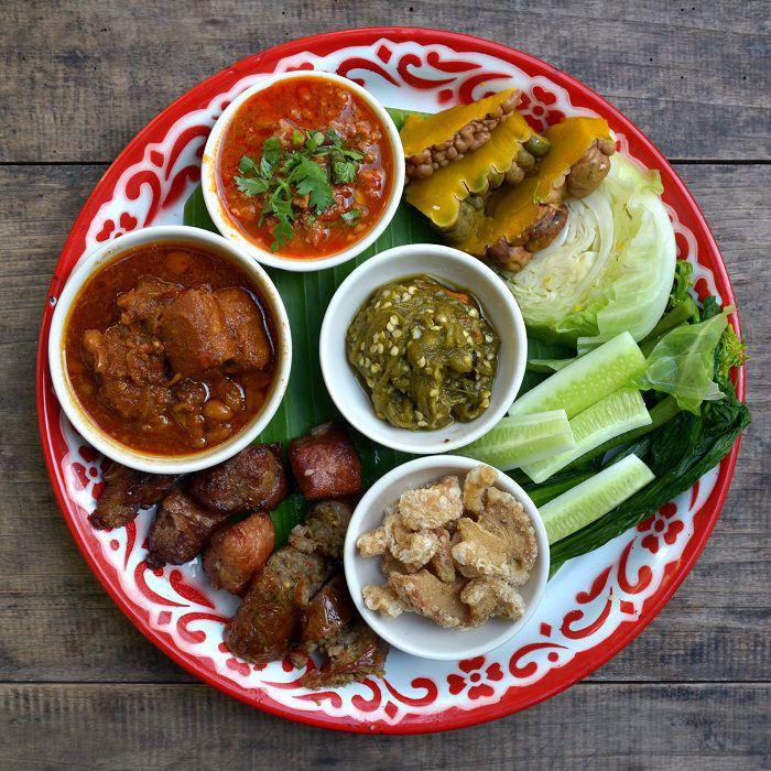 רכיבי מזון מהמטבח התאילנדי