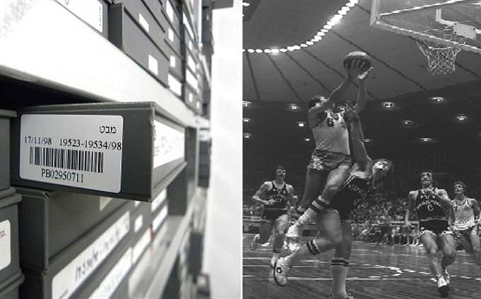 בחן את עצמך - מה קדם למה: קלטת וידאו עם הקלטת מהדורת מבט וטל ברודי נאבק על הכדור במהלך משחק של מכבי תל אביב